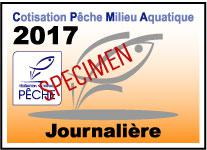 CPMA timbre journalire 2017