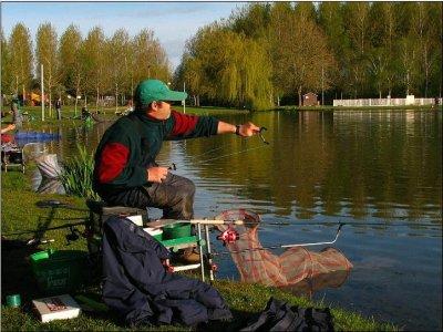 La pêche séparée de vidéo